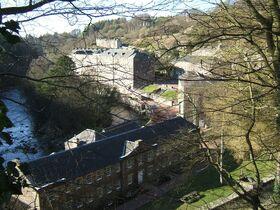 New Lanark village