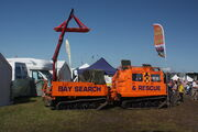 Hagglund BV206 of Bay Search & Rescue at cumbria 09 - IMG 0902