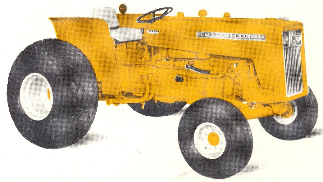 Ih 2424 Tractor Loader : International lo boy tractor construction plant