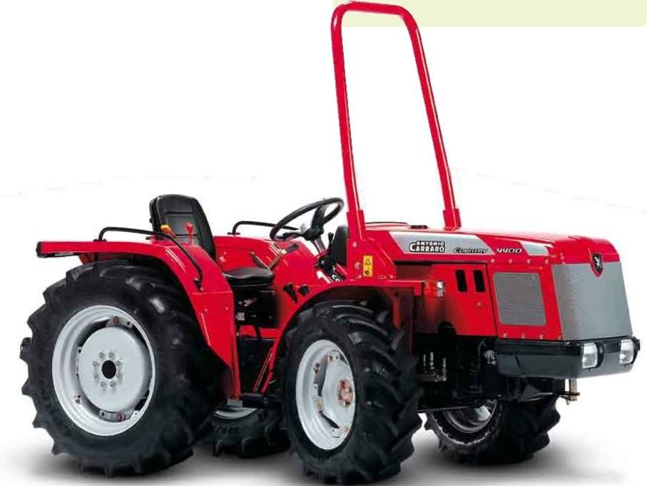 Antonio carraro tigre country 4400 tractor for Forum trattori carraro