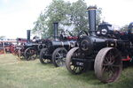3 Fowler ploughing engines at Rempston 2010 - IMG 5737