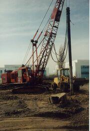 NCK crane vibropiling rig