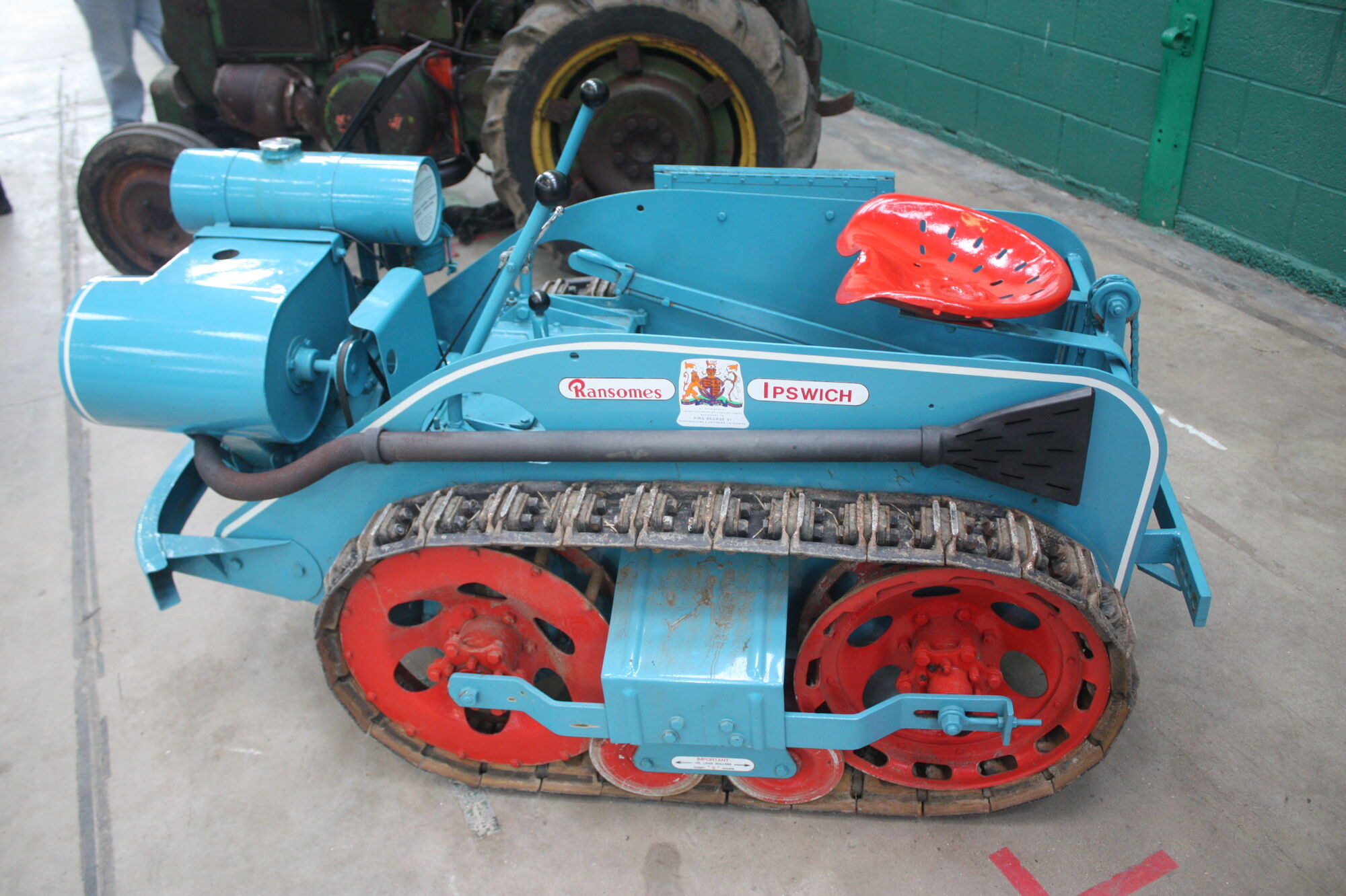 Tractor Track System : Roadless track system tractor construction plant wiki