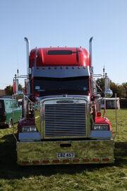 Freightliner - reg CBZ 457 - front - at Scorton NY 09 - IMG 2360