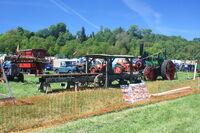Sprig on Sawbench demo at Belvoir 2010 - IMG 2827