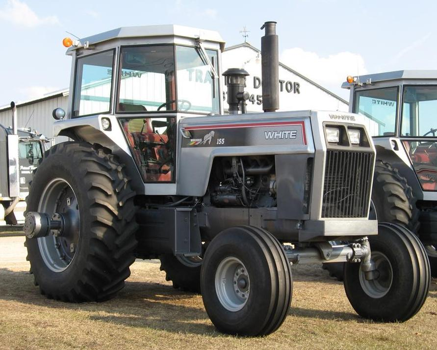 195 White Tractor : White workhorse tractor construction plant wiki