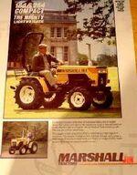 Marshall 184 MFWD brochure