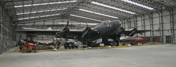 Halifax Bomber Yorkshire Air Museum