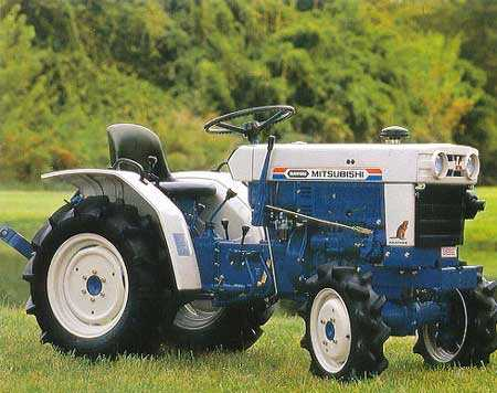 Satoh beaver tractor for sale