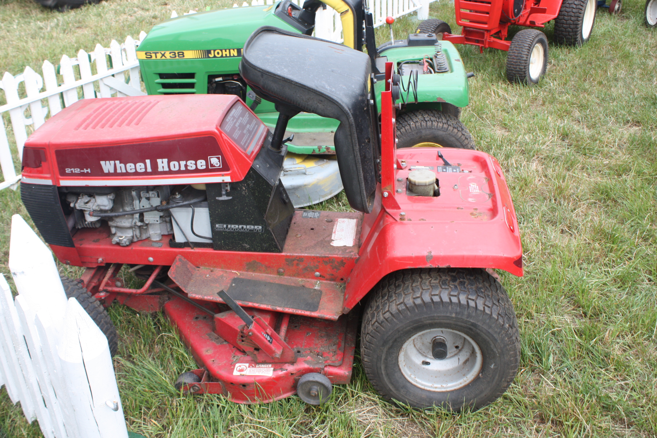 Wheel Horse Garden Tractor With Pto And 3 Point : Wheel horse wiring diagram