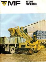 MF 200 crawler loader brochure