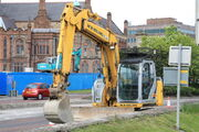 New Holland E135 excavator in Derry NI - IMG 1629