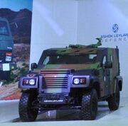 Ashok Leyland ALDS Ligth Combat Vehicle