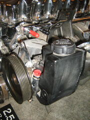 Jeep 2.5 liter 4-cylinder engine chromed h