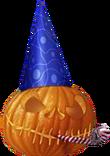New Year's Pumpkin decoration