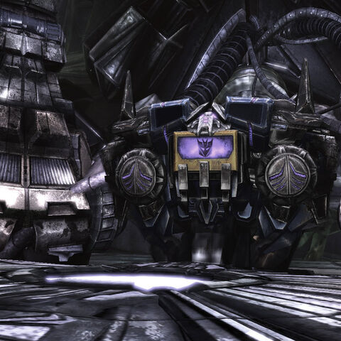 Soundwave in his boombox mode while guarding Zeta Prime