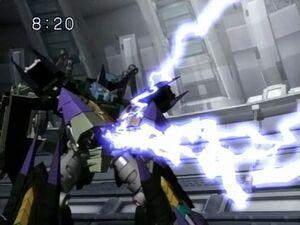 Cyb Megatron forcelightning