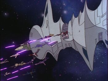 FFOD3 Decepticons Quintesson ship