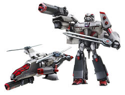 Animated megatron leader