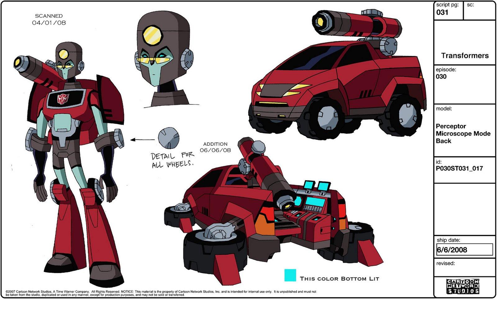 Tfa-perceptor-design Transformers Prime Perceptor