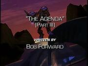 Agenda3 opening