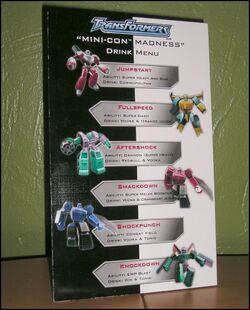 Minicon drinks