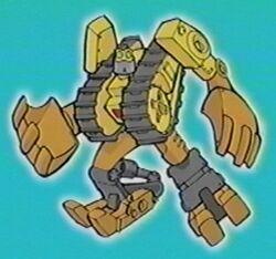Strongbot intro pose
