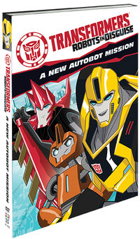 Robots in Disguise 2015 special edition DVD cover