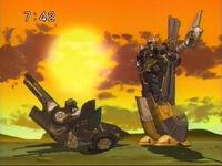 Cybertron Evac Crosswise ep52 sunset