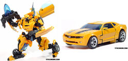 Movie Deluxe 2009 Bumblebee toy