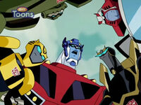 'sHome Autobots Huddle