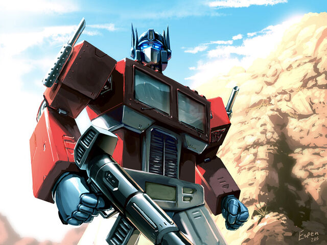 File:Optimus Prime by EspenG.jpg