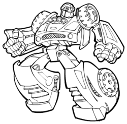 Speedbot coloring book