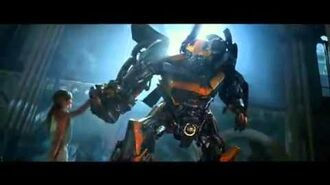 Transformers Age of Extinction TV Spot - Bumblebee Dances