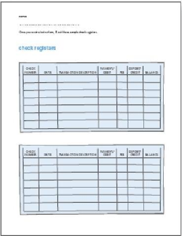 Printables Check Register Worksheet printables blank check register worksheet safarmediapps volunteer guide kids checking savings global money wiki a with