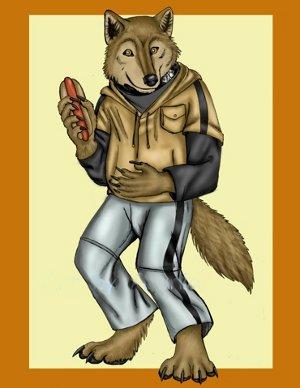 Wolf s Rain Anthro Hige by arania