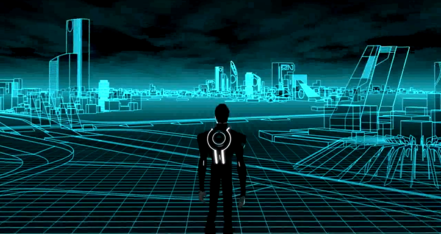 tron the grid wallpaper - photo #31