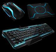Razer- Tron Mouse, Keyboard, Mousepad
