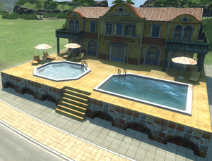 Acommodation Building Tropico