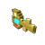 Golden Gem Key small