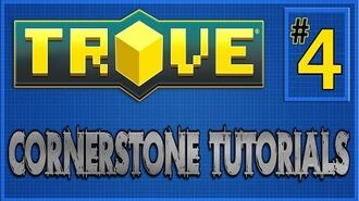 Trove Cornerstone Builds- -4 Basic Castle Tutorial