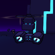 Flying Cannonbot ingame
