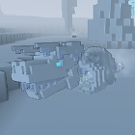 Frozen Dracolich ingame