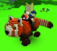 Mount Giant Red Panda