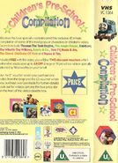 Children'sPre-schoolCompilationbackcoverandspine