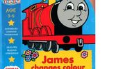 James Changes Colour