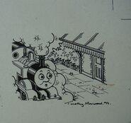 Thomas'JourneyOriginalDrawing