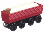WoodenRailwaySawmillLogcar