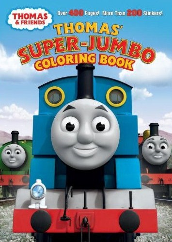 Thomas 39 SuperJumbo Coloring Book Thomas the Tank Engine