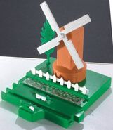 MotorRoadAndRailWindmillScenery